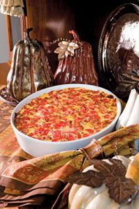Kentucky Hot Brown Casserole - Paula Deen  Wow.... don't know.... 1 cup of butter!  Sounds delish.