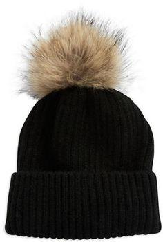 c1fa8bc8dd1 Linda Richards Coyote Fur Pom Pom Hat China Fashion