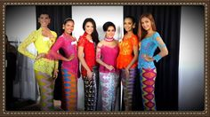 Super Gorgeous Kebaya Bali at The Miss World 2013 Event