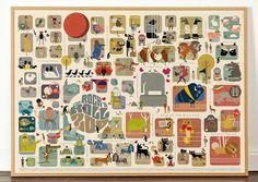 Wild Animals And Music Posters-4