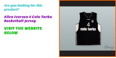 Are you interested to purchase Allen Iverson 4 Cola Turka Basketball Jersey? Visit http://www.borizcustomsportsjerseys.com/Allen-Iverson-4-Cola-Turka-Basketball-Jersey-p/iverson-4-cola-turka.htm