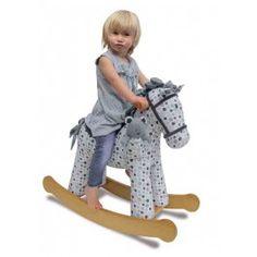 Superbe chevale à bascule, top tendance, parfait comme cadeau de Noël ! http://www.bebegavroche.com/poney-a-bascule-dylan-boo-little-bird-told-me.html