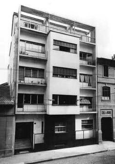 Casa Toninello, Milan 1933 by G. Terragni