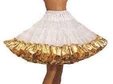 gold petticoat - Google Search