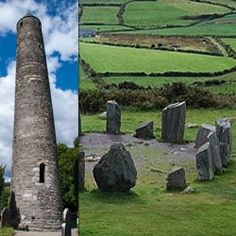 Whenever you see one of these majestic round towers or stone circles, whether in Ireland or elsewhere in the British Isles, ones first thoughts...