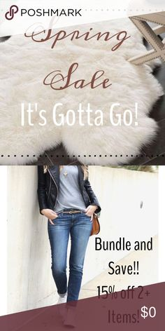 """SPRING SALE!! Spring cleaning my shop! Items marked """"SALE"""" have been around a while and need to go! I'm very open to reasonable offers when bundling these items! Have fun poshing! J. Crew Tops"""