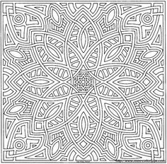 abstract coloring pages for adults - Szukaj w Google