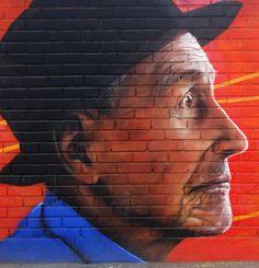 Museo a cielo abierto san miguel  #mural #graffiti #streetart #kode #alanzarate
