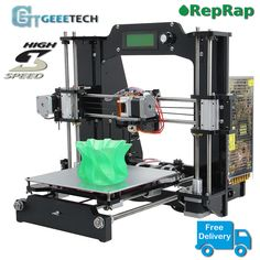 Geeetech Prusa i3 X - First high speed 3d printer from prusa i3 series