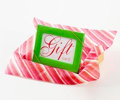 Gift Card Holder - Small Picture Frame