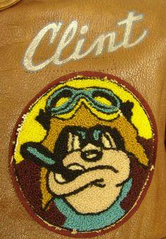 WW2 A2 Leather Flight Jacket Clint 2