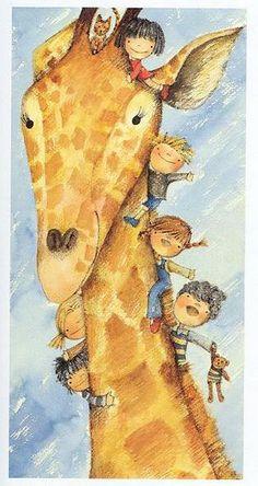 Natascia Ugliano - professional children's illustrator, view portfolio