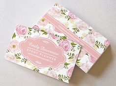 Elegant Vintage Pink Roses Personalized Business Card Template from Zazzle.com
