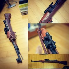 Something we liked from Instagram! 3D printed ZF41 scope with mount for kar98k It's dummy:) #airsoft #milsim #kar98k #rifle #scope #sniper #ww2 #3dprinter #3dprinting #3dprint by lonewolfz check us out: http://bit.ly/1KyLetq