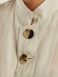 Panelled cotton-voile jacket | Wales Bonner