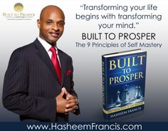 I've never met a wealthy person who was not a lifelong learner. They purchase anywhere from 15-20 books per year. A wealthy person sees a book as an asset, an poor person sees a book as a liability. How many assets have you purchased in 2013? http://www.HasheemFrancis.com/Products.html