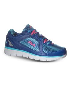 Look what I found on #zulily! Blue Finest Hour Neoprene Sneaker by FILA #zulilyfinds