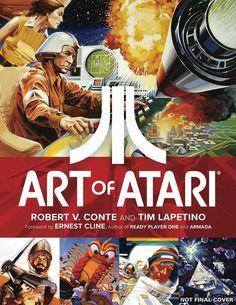 Há anos o Vince fez um post aqui sobre o cuidado que as produtoras tinham com as capas dos games lançados para Atari.    Esse resgate de artes incríveis, que ajudavam os jogadores a lidarem com a abstração representada pelos poucos pixels da tela,...