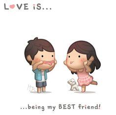 Love is being my best friend! <3 #hjstory www.hj-story.com