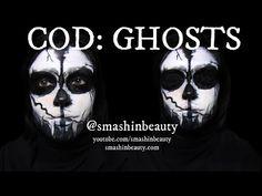 Call Of Duty Ghosts Halloween Makeup Tutorial 2014