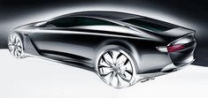 Car design sketches #4 by Grigory Butin, via Behance