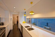 contemporary kitchen by Michelle Walker architects  WINDOWS