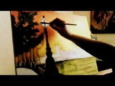 curso de pintura al oleo en español - YouTube