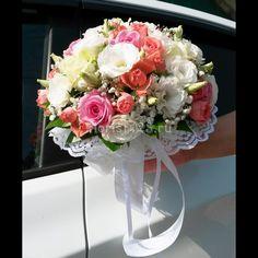Свадебный букет #розы #цветы #эустома #букет #мелкоцветковаяроза #свадебныйбукет #букетназаказ #букетневесты #доставкацветовкраснодар #цветочнаякомпозиция #краснодар #доставкацветов