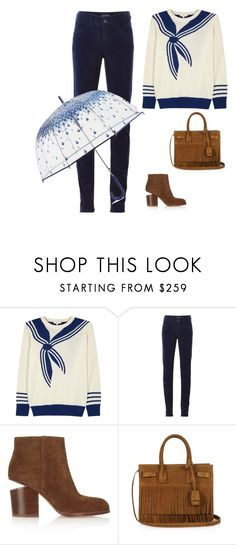 """""""Unbenannt #289"""" by lina-the-great ❤ liked on Polyvore featuring Demylee, Armani Jeans, Alexander Wang, Yves Saint Laurent and Vera Bradley"""