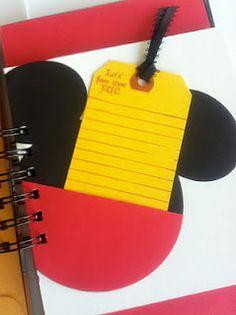 mickey pocket for scrapbooks Disney Scrapbook Pages, Scrapbooking Layouts, Scrapbook Cards, Pocket Scrapbooking, Disney And More, Disney Love, Disney Stuff, Disney Ideas, Mickey Minnie Mouse
