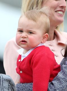 Although his baby sister Princess Charlotte has recently been stealing the public eye, Prince George has proven he's one toddler. Prince George Birthday, Prince George Baby, Baby George, Kate Middleton Prince William, Prince William And Catherine, Cute Kids, Cute Babies, Royal Family Portrait, Princesa Charlotte