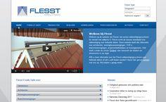 Flesst is de nieuwe standaard voor valbeveiliging op hellende daken.  InterXL ontwikkelde voor Flesst haar website inclusief uitgebreide backoffice voor medewerkers en dealers. De backoffice automatiseert alle administratieve processen, van inkoop tot registratie van installaties.  Bekijk de website op www.Flesst.nl.