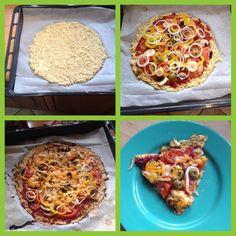 Pizza z cuketového cesta