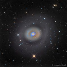 Starburst Galaxy M94 --- May 26 --- Image Credit & Copyright: Leonardo Orazi