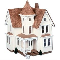 Matching Dollhouse, $64.99 - L's 3rd Birthday gift idea....for when I'm less afraid of her choking on the pieces!