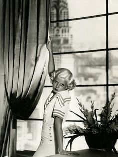 Jean Harlow.  A George Vreeland Hill Pinterest post.