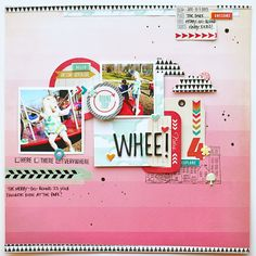Tons of cute, well-placed embellishments -- Paper Fab: SMB & Chic Tags Blog Hop