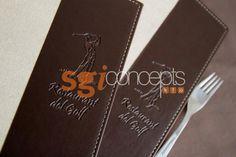 cubiertas de menu combinadas en ecocueros y papeles vinilicos