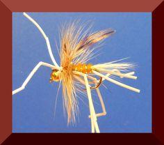 3 Goldhead Vibrating WHITE daddies WHITE LEGS legs size 12 Salmoflies