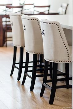Pier1 Imports Corinne Linen Counter Stools