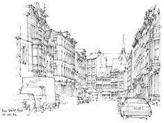 Liège, rue  St-Éloi