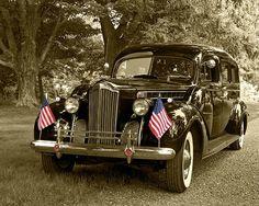 1940 Packard hearse