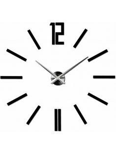 Moderní 3D nástěnné hodiny do obývacího pokoje - ZAHIR Mirror Wall Clock, Bunt, Wall Stickers, New Homes, Modern, Decor, Space, Household