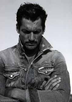 Dustbowl serious face. | 32 Examples Of David Gandy's Best Serious Face