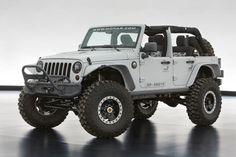 2013 #Jeep Wrangler Recon concept