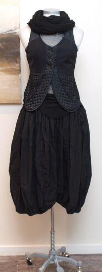 rundholz dip - Top Tüll black iron - Sommer 2014 - stilecht - mode für frauen mit format...