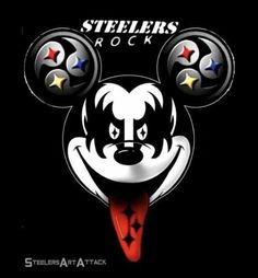 Steel Curtain, Mickey Mouse, Disney Characters, Fictional Characters, Darth Vader, Cartoon, Rock, Sports, Hs Sports