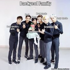 """ #Baekyeol Family .. #Kaisoo (sexy uncle and sexy uncle's wife .. haha)"" ~ omg yess !!! xd"