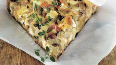 Koti, Vegetable Pizza, Quiche, Vegetables, Breakfast, Desserts, Morning Coffee, Tailgate Desserts, Deserts