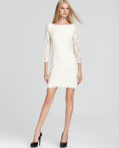 DIANE von FURSTENBERG Lace Dress - Zarita | Bloomingdale's